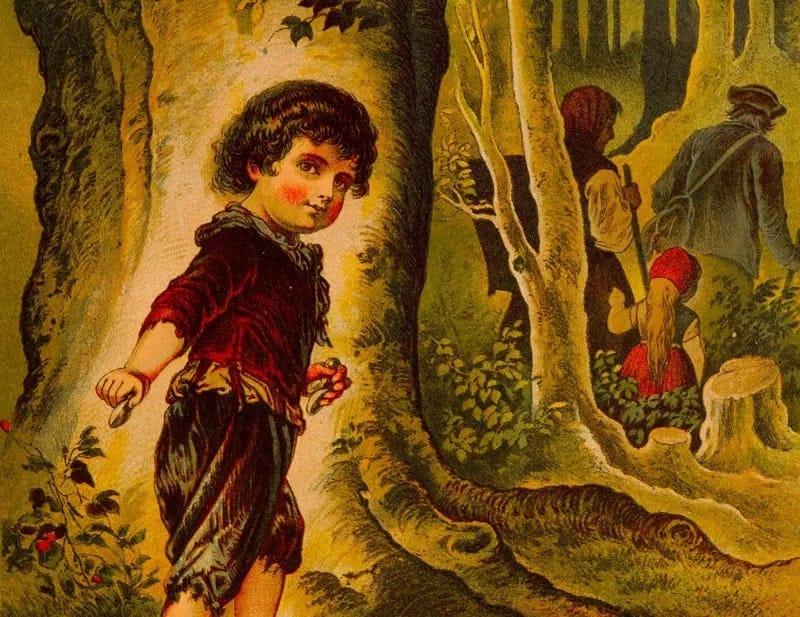 充满童真的儿童故事也可以是恐怖故事